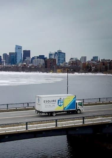 Esquire Moving Company Truck